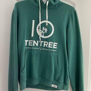 Men's TenTree Green Hoodie